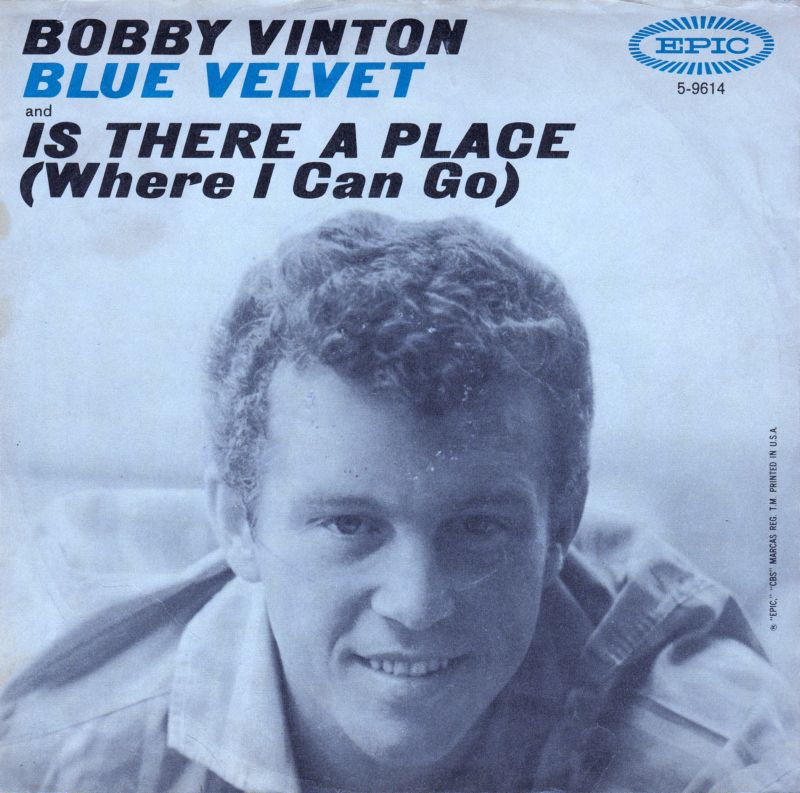 Bobby Vinton Blue On Blue Those Little Things