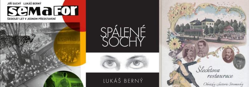 3 knihy moderátora Lukáše Berného za 3 měsíce
