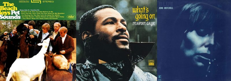 Nejlepší album historie natočil Marvin Gaye