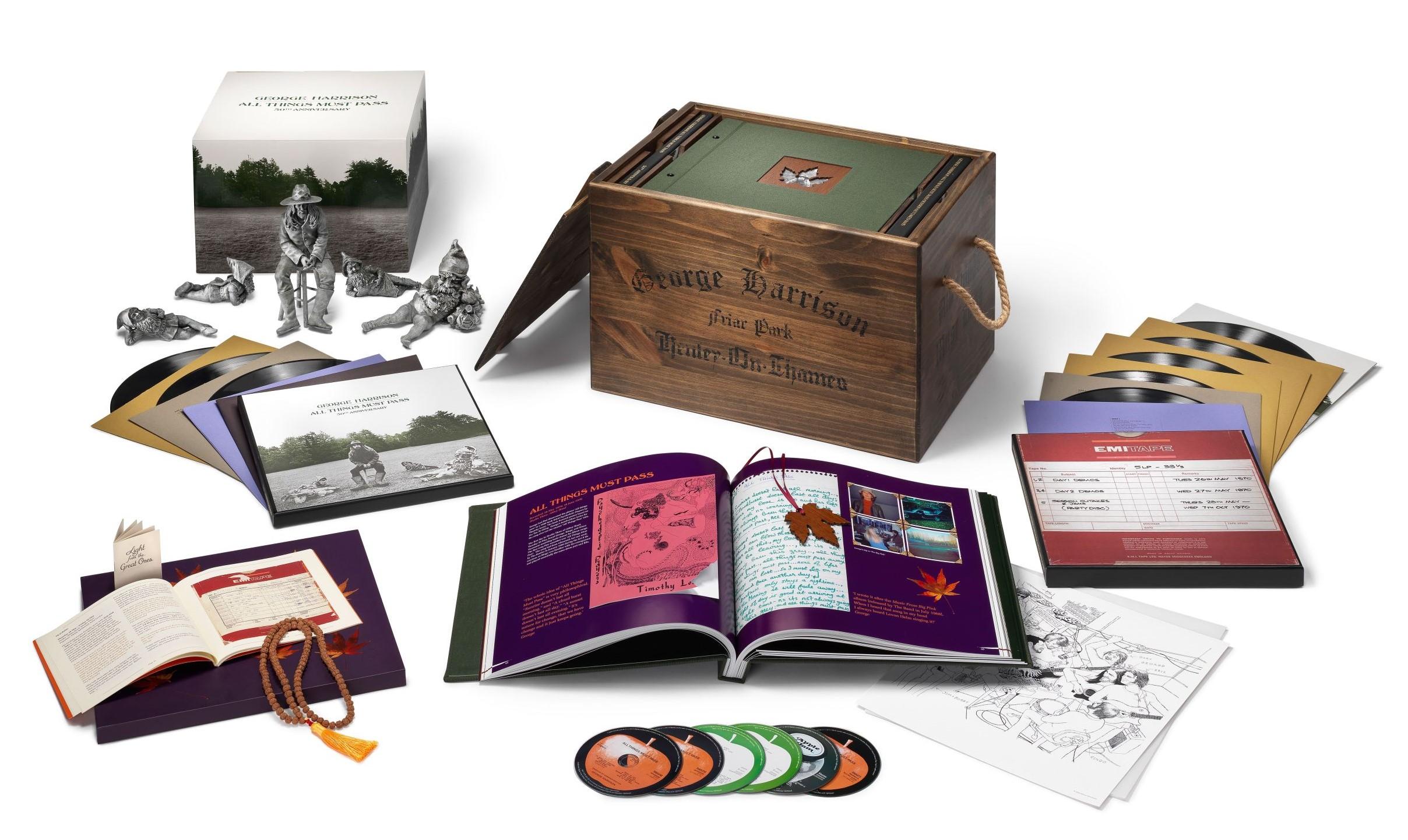 Album George Harrisona vyjde i s trpaslíčky
